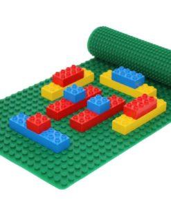 Doppelseitige Lego Duplo Bauplatte